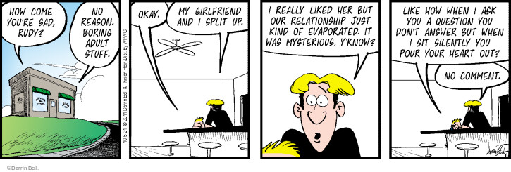 Comic Strip Darrin Bell  Rudy Park 2021-10-05 question
