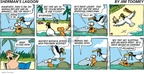Cartoonist Jim Toomey  Sherman's Lagoon 2009-03-22 animal welfare