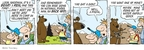 Cartoonist Jim Toomey  Sherman's Lagoon 2009-09-07 gun