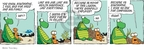 Cartoonist Jim Toomey  Sherman's Lagoon 2009-10-10 loss