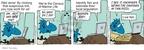 Cartoonist Jim Toomey  Sherman's Lagoon 2009-11-12 pizza