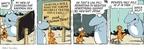 Cartoonist Jim Toomey  Sherman's Lagoon 2010-02-08 against