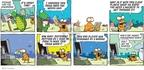Cartoonist Jim Toomey  Sherman's Lagoon 2010-03-28 management