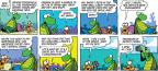 Cartoonist Jim Toomey  Sherman's Lagoon 2012-09-30 throw away