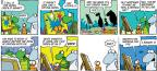 Cartoonist Jim Toomey  Sherman's Lagoon 2013-08-04 cat