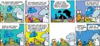 Cartoonist Jim Toomey  Sherman's Lagoon 2014-02-16 tiny