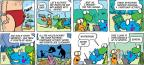 Cartoonist Jim Toomey  Sherman's Lagoon 2014-07-13 science
