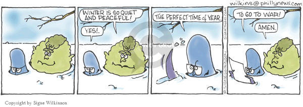 Signe Wilkinson  Shrubbery 2003-01-07 year