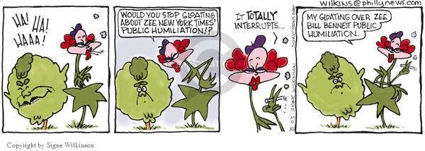 Cartoonist Signe Wilkinson  Shrubbery 2003-05-20 book