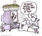 Cartoonist Signe Wilkinson  Signe Wilkinson's Gardening Images 1999-03-01 gardening