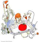 Cartoonist Signe Wilkinson  Signe Wilkinson's Gardening Images 1999-01-01 glove