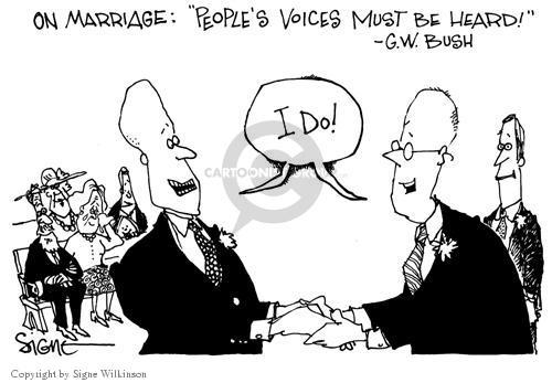 Cartoonist Signe Wilkinson  Signe Wilkinson's Editorial Cartoons 2004-01-22 sexuality