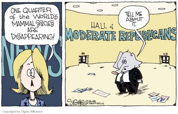 Signe Wilkinson  Signe Wilkinson's Editorial Cartoons 2008-10-16 moderate republican