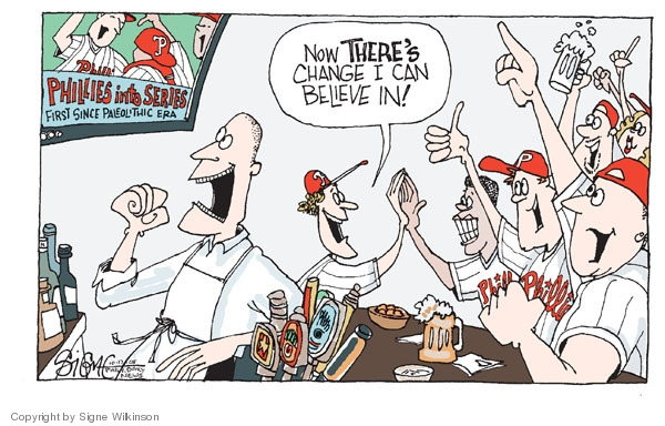 Signe Wilkinson  Signe Wilkinson's Editorial Cartoons 2008-10-17 baseball player