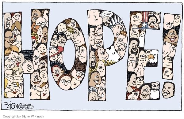 Signe Wilkinson  Signe Wilkinson's Editorial Cartoons 2008-11-05 2008 election
