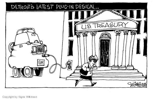 Signe Wilkinson  Signe Wilkinson's Editorial Cartoons 2008-11-10 economics
