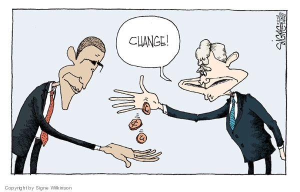 Signe Wilkinson  Signe Wilkinson's Editorial Cartoons 2008-11-11 George Bush