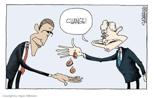 Cartoonist Signe Wilkinson  Signe Wilkinson's Editorial Cartoons 2008-11-11 George W. Bush