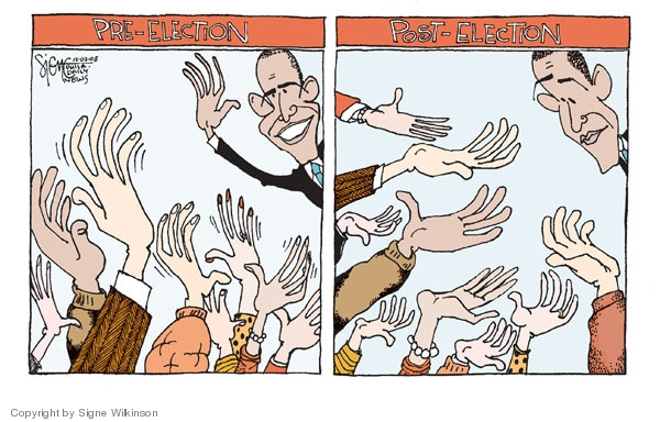 Signe Wilkinson  Signe Wilkinson's Editorial Cartoons 2008-12-02 out