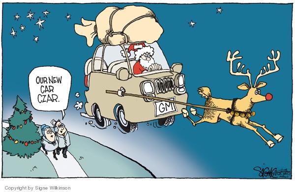 Signe Wilkinson  Signe Wilkinson's Editorial Cartoons 2008-12-10 economic