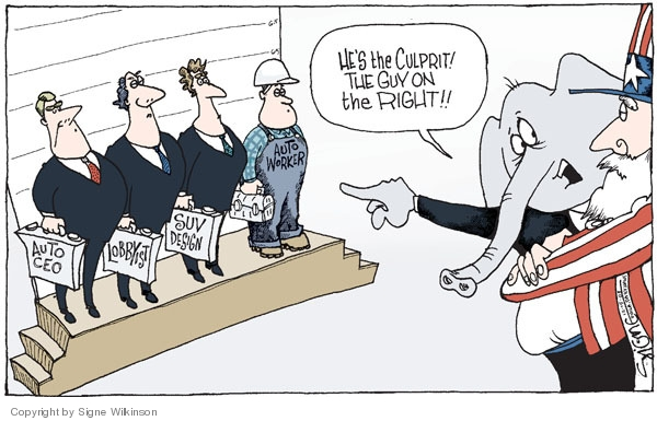 Signe Wilkinson  Signe Wilkinson's Editorial Cartoons 2008-12-15 bail