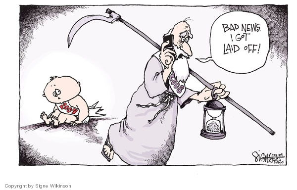 Signe Wilkinson  Signe Wilkinson's Editorial Cartoons 2009-01-02 lose