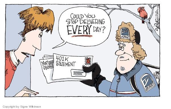 Signe Wilkinson  Signe Wilkinson's Editorial Cartoons 2009-01-30 financial crisis