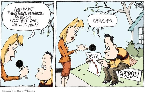 Signe Wilkinson  Signe Wilkinson's Editorial Cartoons 2009-03-12 401k