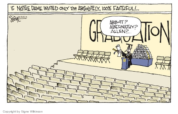 Cartoonist Signe Wilkinson  Signe Wilkinson's Editorial Cartoons 2009-04-04 absolutely