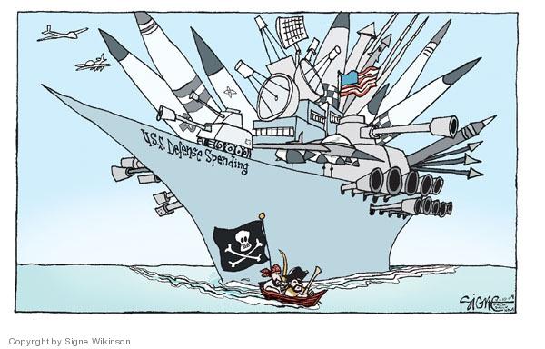 Signe Wilkinson  Signe Wilkinson's Editorial Cartoons 2009-04-10 drone