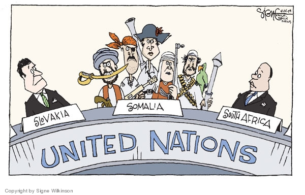 Cartoonist Signe Wilkinson  Signe Wilkinson's Editorial Cartoons 2009-04-14 south