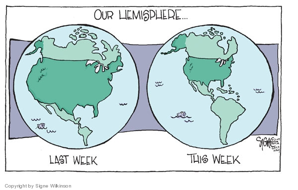 Signe Wilkinson  Signe Wilkinson's Editorial Cartoons 2009-04-22 week