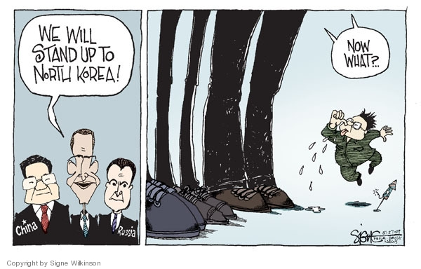 Signe Wilkinson  Signe Wilkinson's Editorial Cartoons 2009-05-27 Dmitry Medvedev