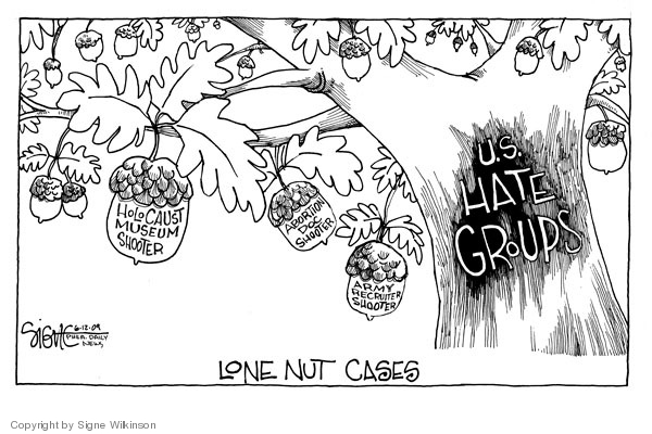 Signe Wilkinson  Signe Wilkinson's Editorial Cartoons 2009-06-12 army recruit