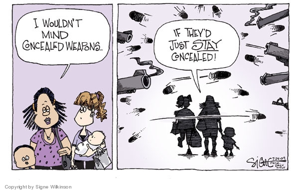 Signe Wilkinson  Signe Wilkinson's Editorial Cartoons 2009-07-24 wouldn't