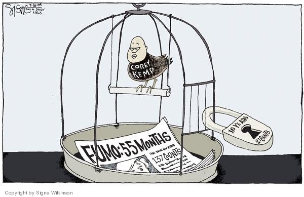 Signe Wilkinson  Signe Wilkinson's Editorial Cartoons 2009-07-16 Corey