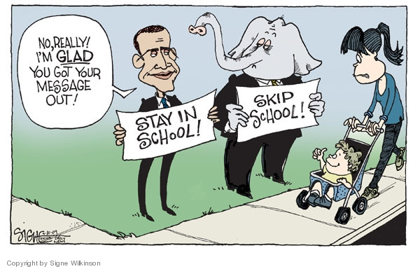Signe Wilkinson  Signe Wilkinson's Editorial Cartoons 2009-09-10 out