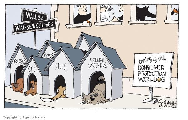 Cartoonist Signe Wilkinson  Signe Wilkinson's Editorial Cartoons 2009-09-16 oversight