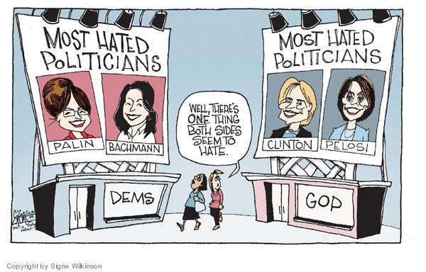 Cartoonist Signe Wilkinson  Signe Wilkinson's Editorial Cartoons 2009-10-16 similarity