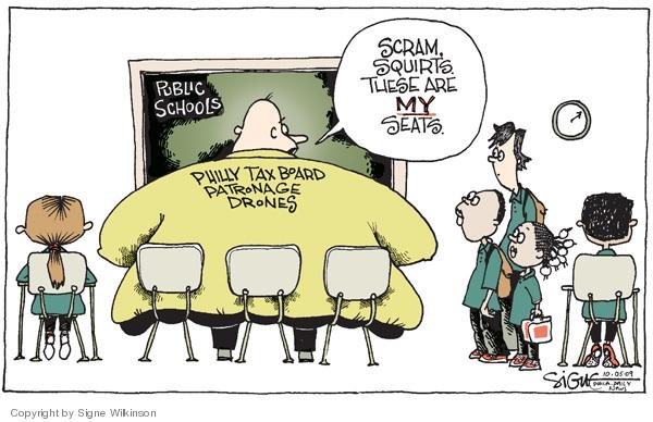 Signe Wilkinson  Signe Wilkinson's Editorial Cartoons 2009-10-05 drone