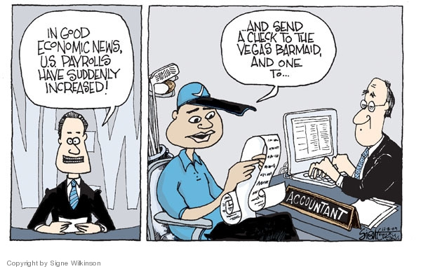 Signe Wilkinson  Signe Wilkinson's Editorial Cartoons 2009-12-08 economic