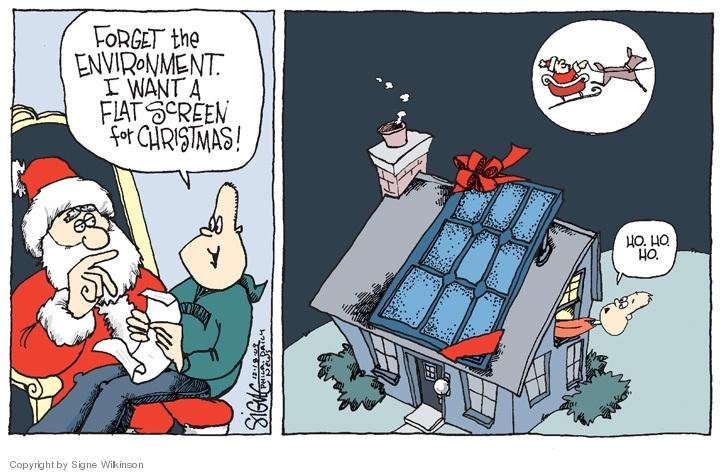 Signe Wilkinson  Signe Wilkinson's Editorial Cartoons 2009-12-18 environment