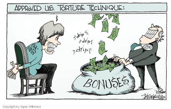 Signe Wilkinson  Signe Wilkinson's Editorial Cartoons 2010-01-12 bail