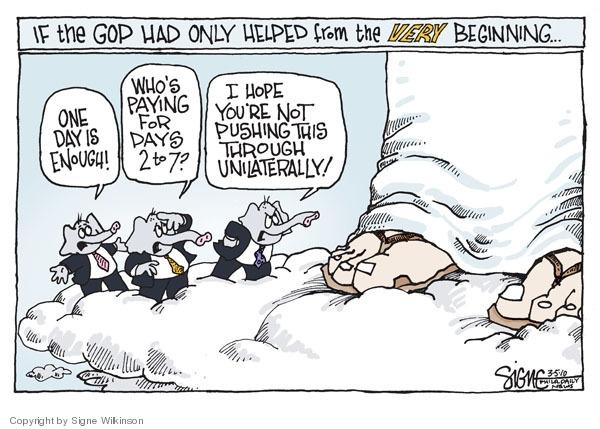Signe Wilkinson  Signe Wilkinson's Editorial Cartoons 2010-03-05 GOP