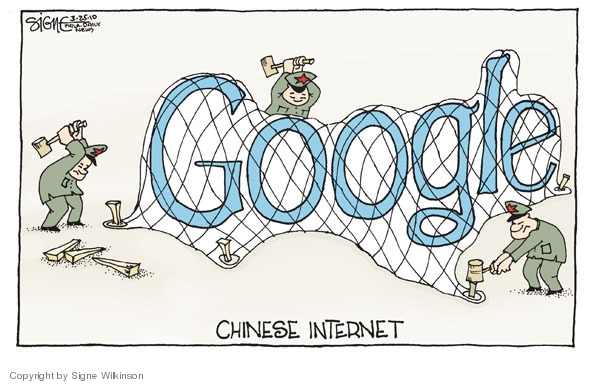 Signe Wilkinson  Signe Wilkinson's Editorial Cartoons 2010-03-25 censorship