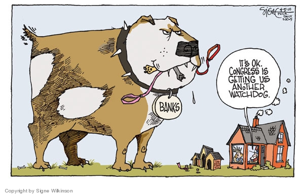 Signe Wilkinson  Signe Wilkinson's Editorial Cartoons 2010-04-05 economic system