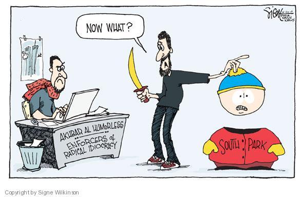 Signe Wilkinson  Signe Wilkinson's Editorial Cartoons 2010-04-26 censorship
