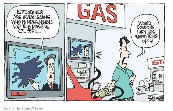 Signe Wilkinson  Signe Wilkinson's Editorial Cartoons 2010-04-30 environment
