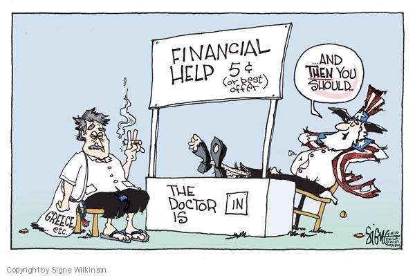 Signe Wilkinson  Signe Wilkinson's Editorial Cartoons 2010-05-14 economic
