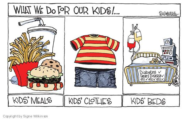 Signe Wilkinson  Signe Wilkinson's Editorial Cartoons 2010-08-04 parenting lifestyle